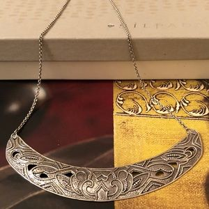 Silpada Sterling Ahead of the Curve Necklace